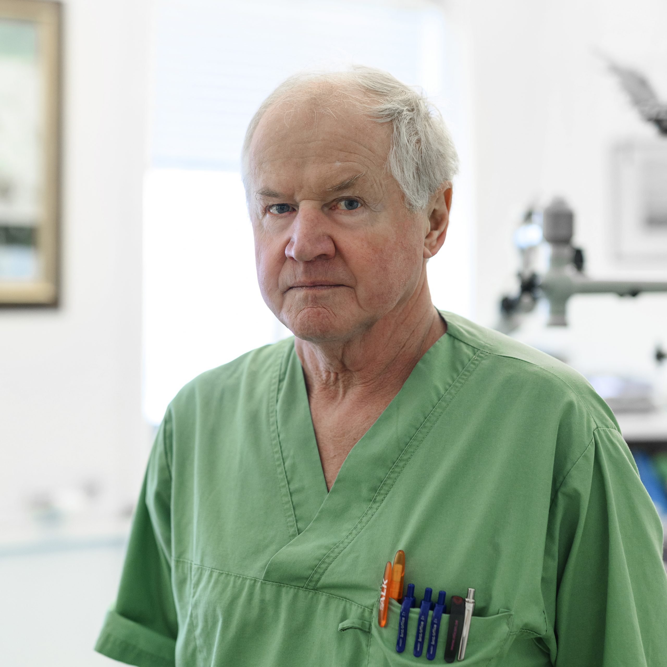 Dr. Gösta Granström | Läkare öron näsa hals Vasakliniken