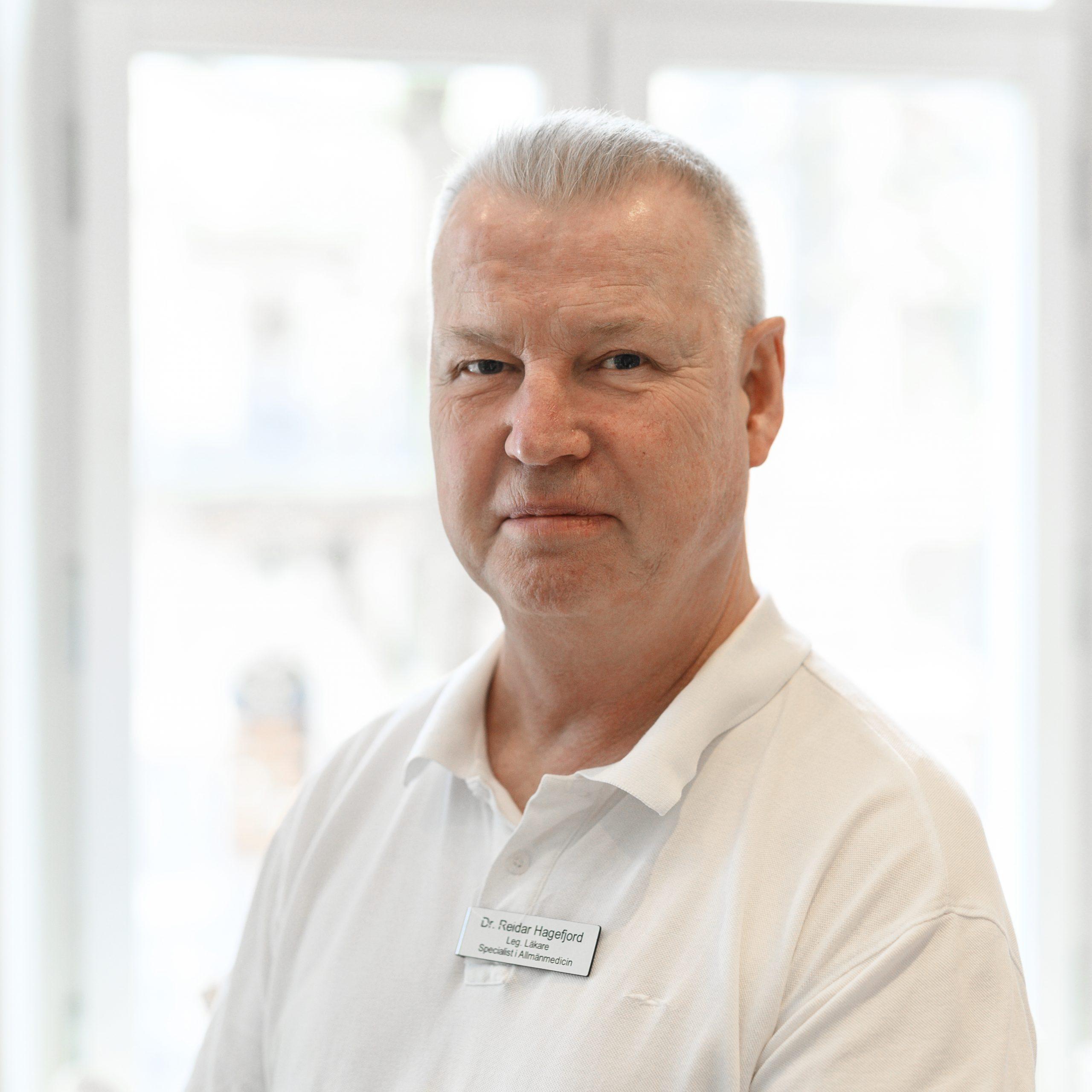 Dr. Reidar Hagefjord | Läkare Allmänspecialist Vasakliniken